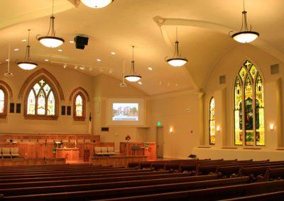 2c First Methodist Interior